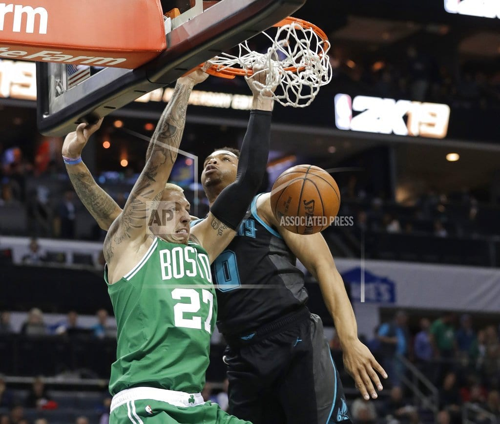 CHARLOTTE, N.C | Walker new NBA scoring leader, Hornets top Celtics 117-112