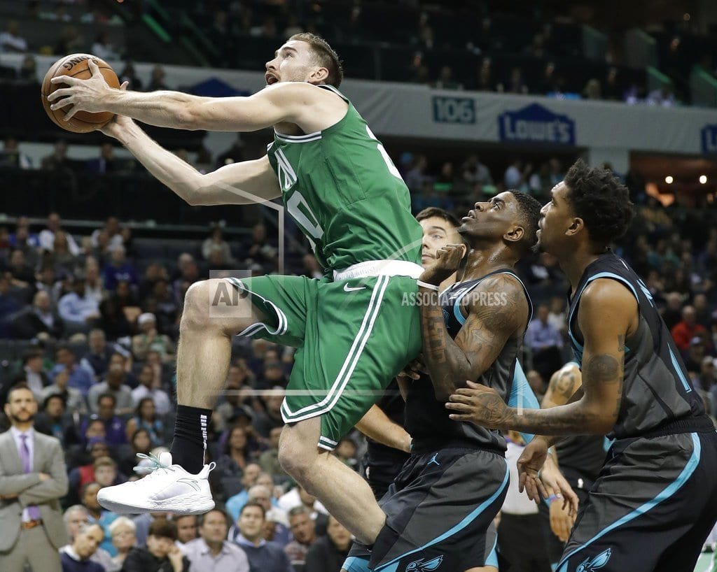 CHARLOTTE, N.C | Walker stays hot, scores 43 as Hornets upend Celtics 117-112