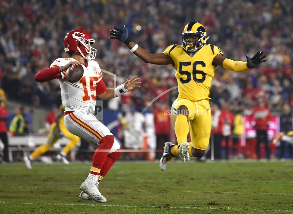 LOS ANGELES | Rams outlast Chiefs 54-51 in high-octane offensive showcase