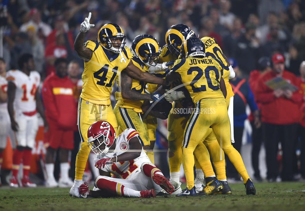 LOS ANGELES | Rams roll into bye week buzzing from epic win over Chiefs