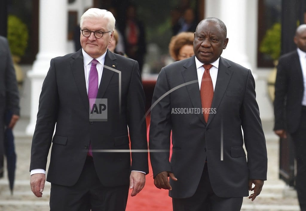 JOHANNESBURG | South African president praises German investment