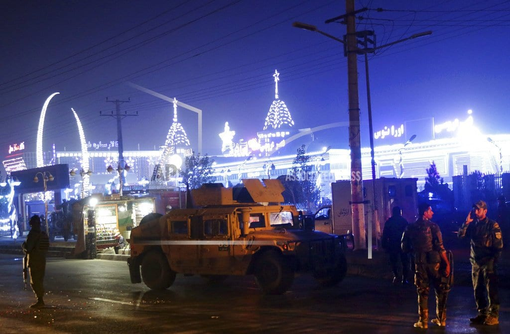 KABUL, Afghanistan | Suicide bomber targets clerics in Afghan capital, 43 killed