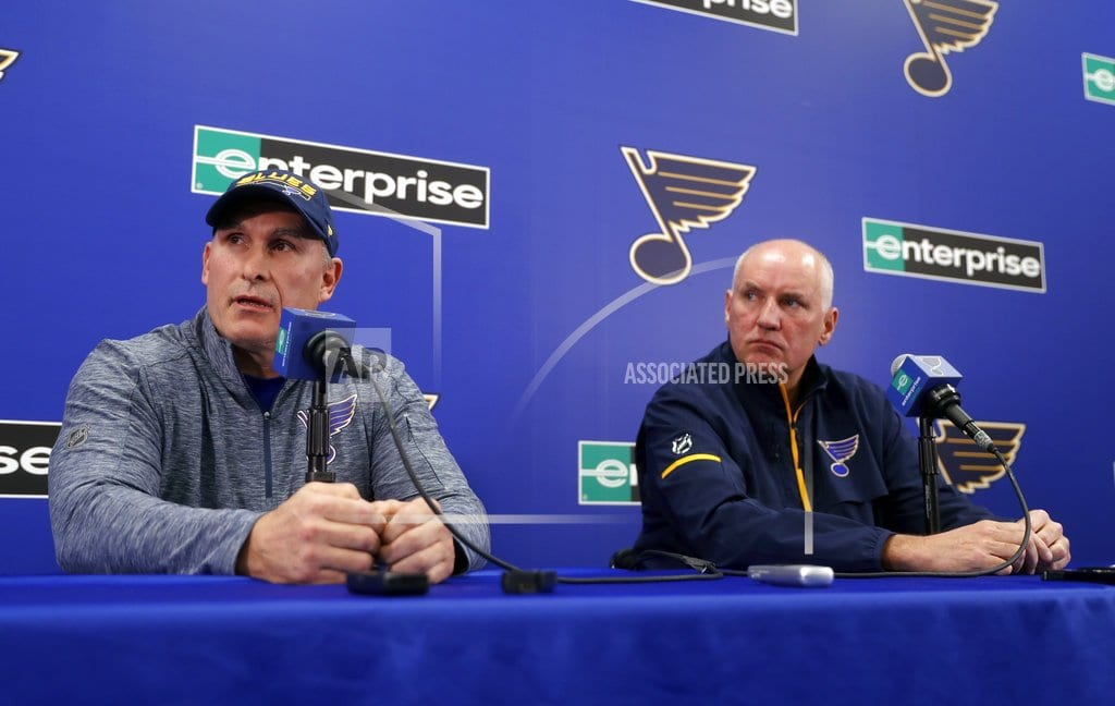 ST. LOUIS | Blues have no timeline for hiring coach after Yeo's exit
