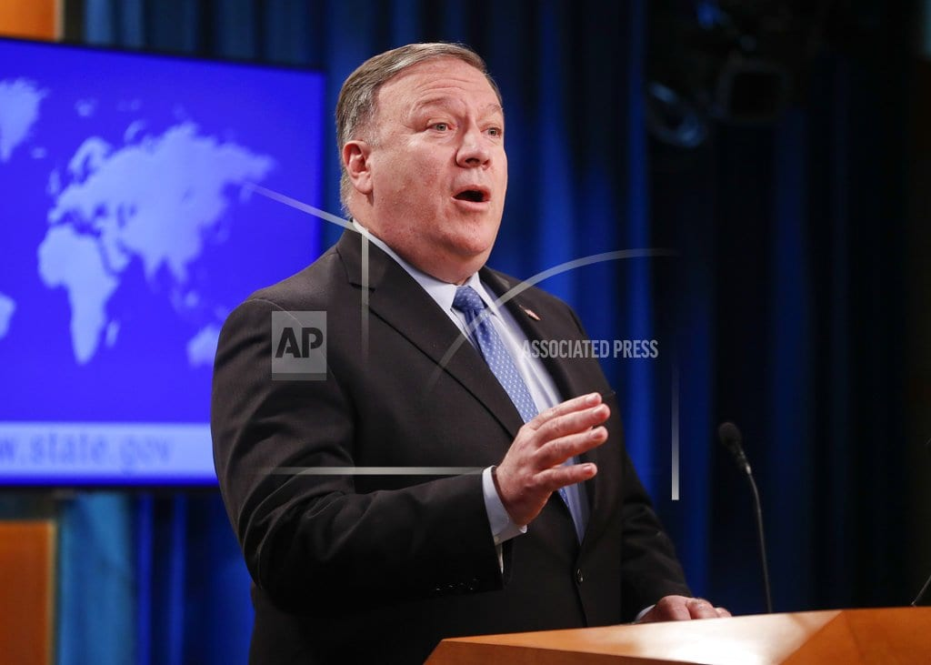 WASHINGTON | Pompeo cites 'positive momentum' in US-Turkey ties