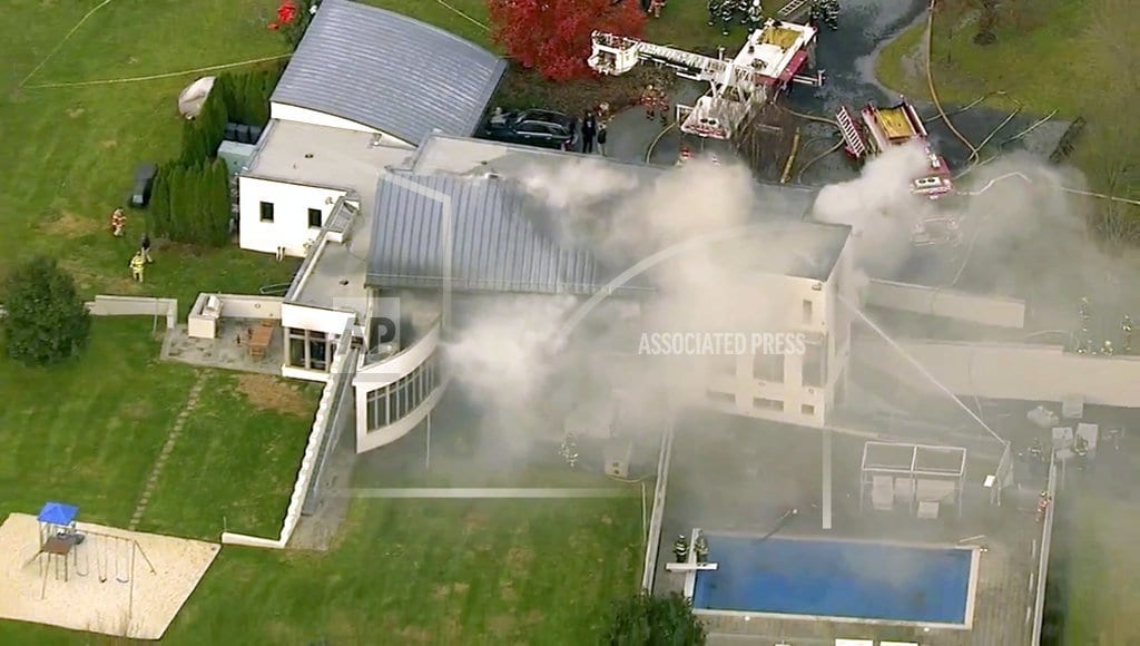 COLTS NECK, N.J. | Prosecutor: Multiple people dead at scene of mansion fire