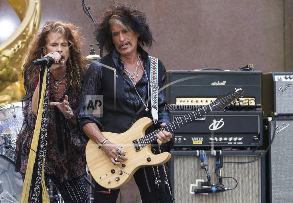 LOS ANGELES | Aerosmith's Perry cancels tour after recent hospital visit