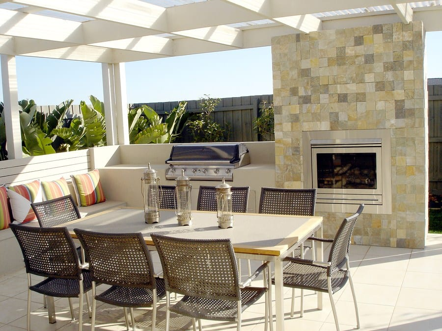 New Trend in Home Entertaining: Outdoor Fireplaces and Fire Pits, by EP Henry
