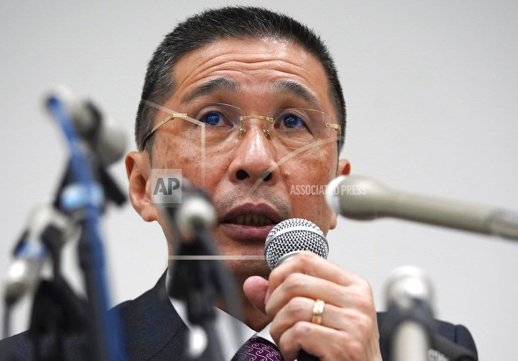 TOKYO  | Nissan to replace rock-star chairman amid arrest scandal