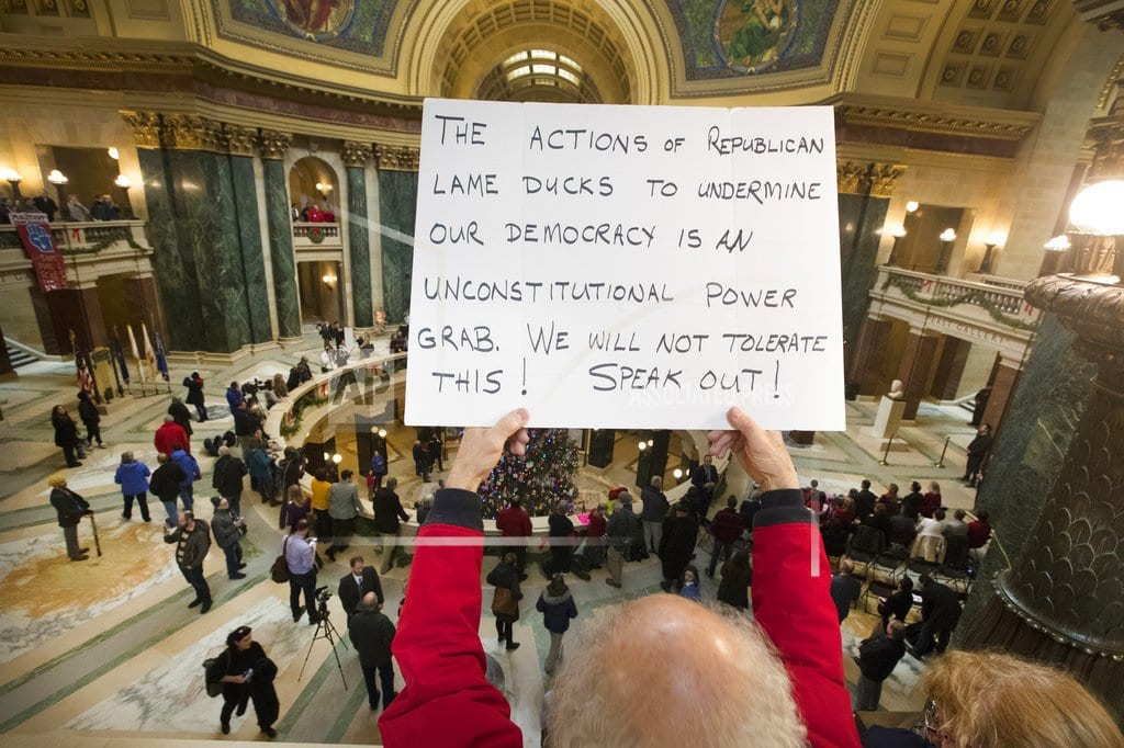 MADISON, Wis. | Walker uses power next governor may not have to seal deal