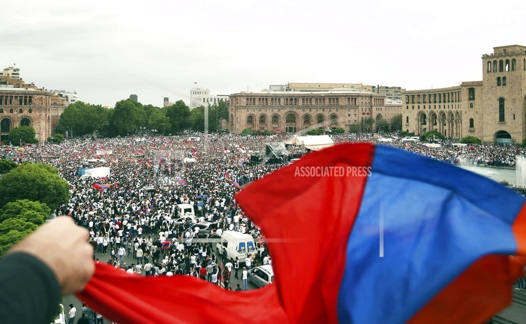 YEREVAN, Armenia| Armenia election expected to consolidate premier's power
