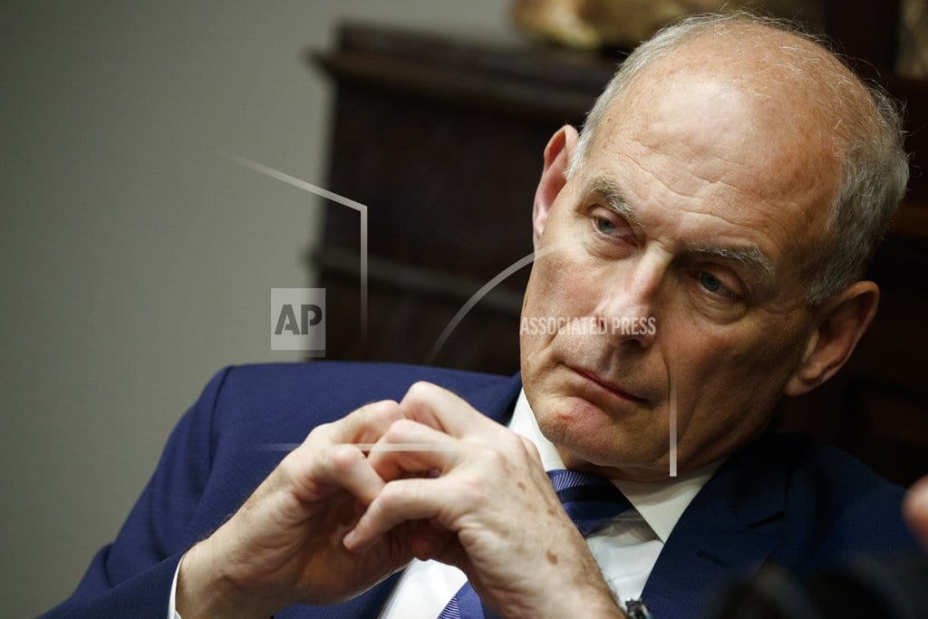 WASHINGTON  | The Latest: Trump considering 4 to be next chief of staff