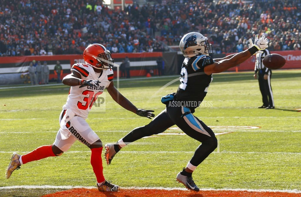 CLEVELAND  | Mayfield, Browns send Panthers to fifth straight loss