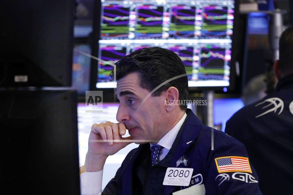 NEW YORK | Stocks indexes settle down, but small companies drop again