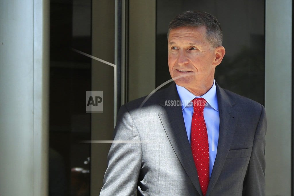 WASHINGTON  | Flynn argues against prison time in Russia investigation