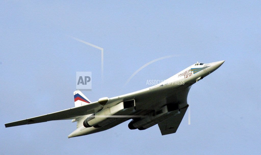 MOSCOW | Russian nuclear-capable bombers fly over Caribbean Sea