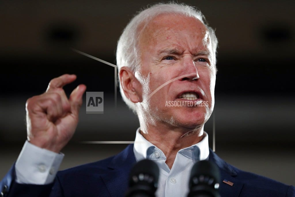 AP source: Biden to meet with family as he ponders 2020