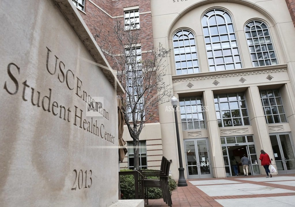 LOS ANGELES  | Nude photos linked to ex-USC doc in sex-abuse investigation