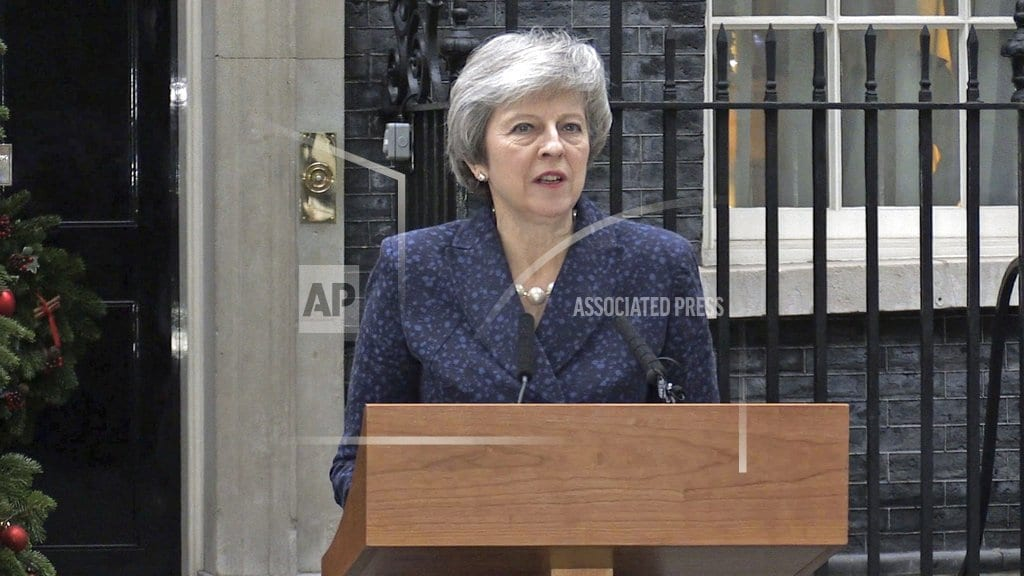 LONDON| The Latest: German government approves Brexit legislation