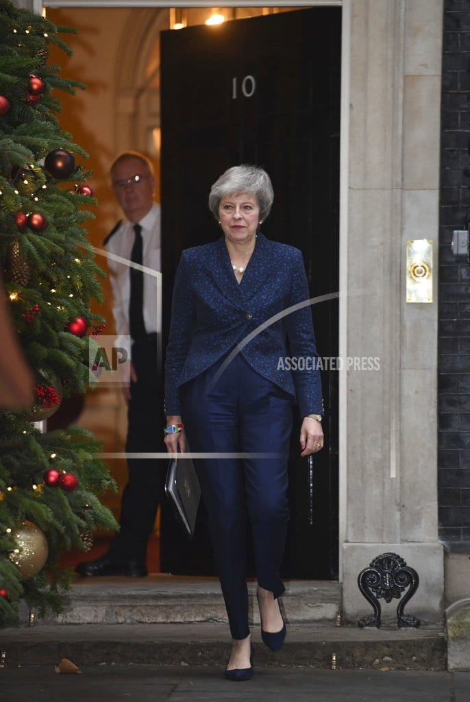 LONDON | The Latest: Sympathy, derision for May on London streets