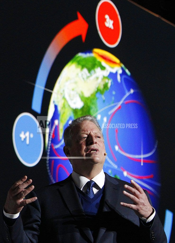 KATOWICE, Poland | The Latest: Ex-VP Gore thinks Trump may help climate cause