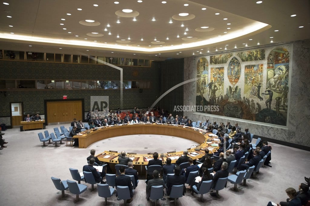 UNITED NATIONS | The Latest: Russian envoy knocks UN policy on Iran