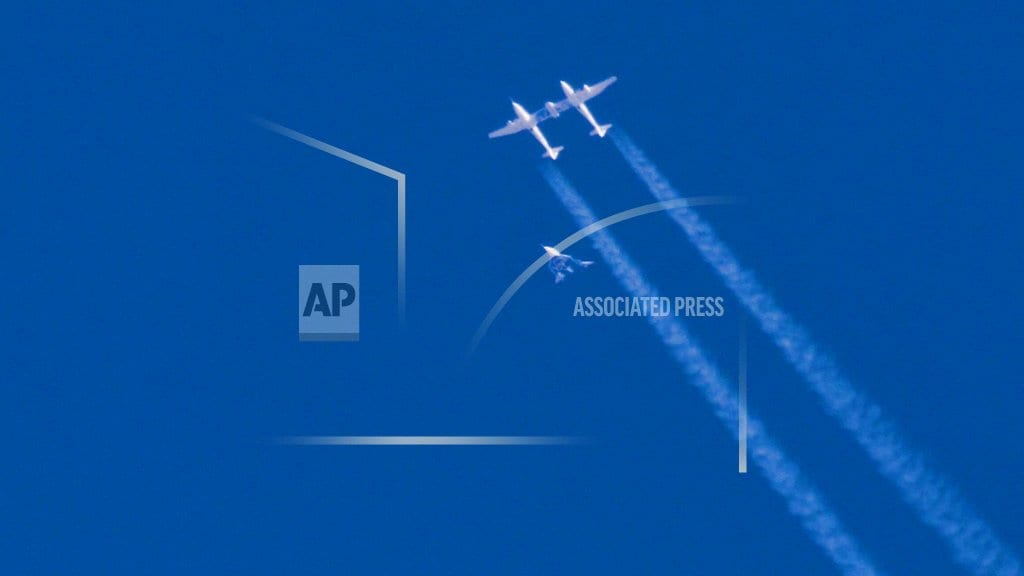 MOJAVE, Calif. | Virgin Galactic rocket ship reaches space in test flight