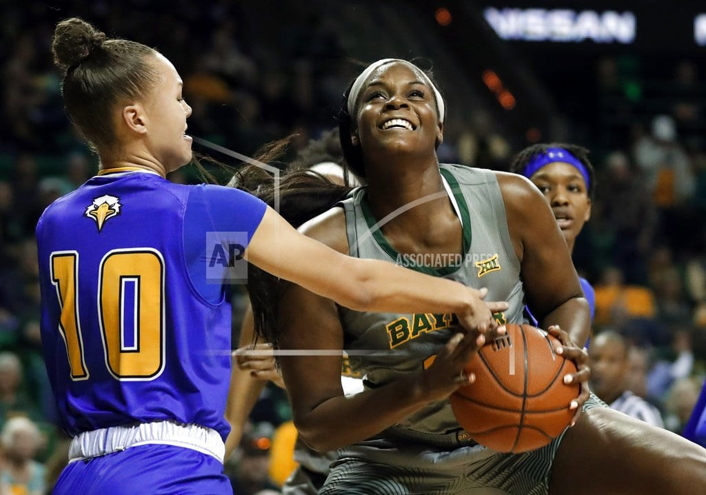 WACO, Texas | Brown, No. 3 Baylor roll to 96-58 win over Morehead State