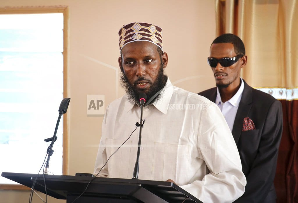 NAIROBI, Kenya  | AU force in Somalia says not involved in ex-al-Shabab arrest
