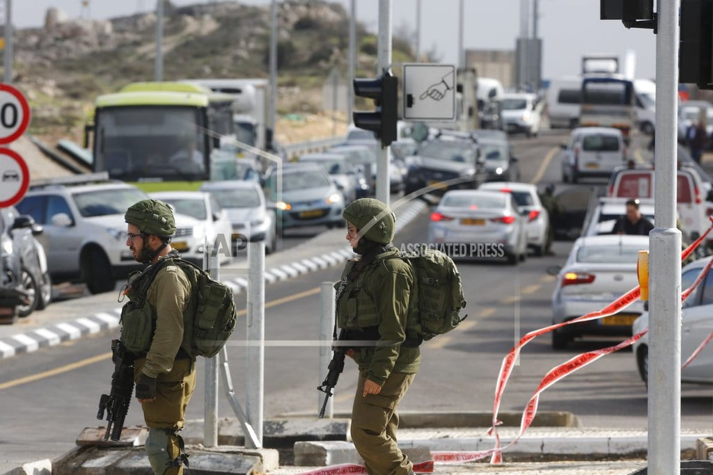RAMALLAH, West Bank | The Latest: Palestinian police end Hamas' West Bank protest