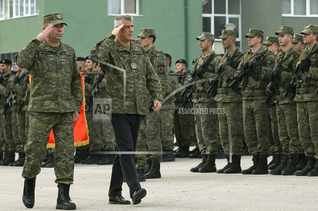 PRISTINA, Kosovo | Kosovo parliament to vote to form new army, angering Serbia