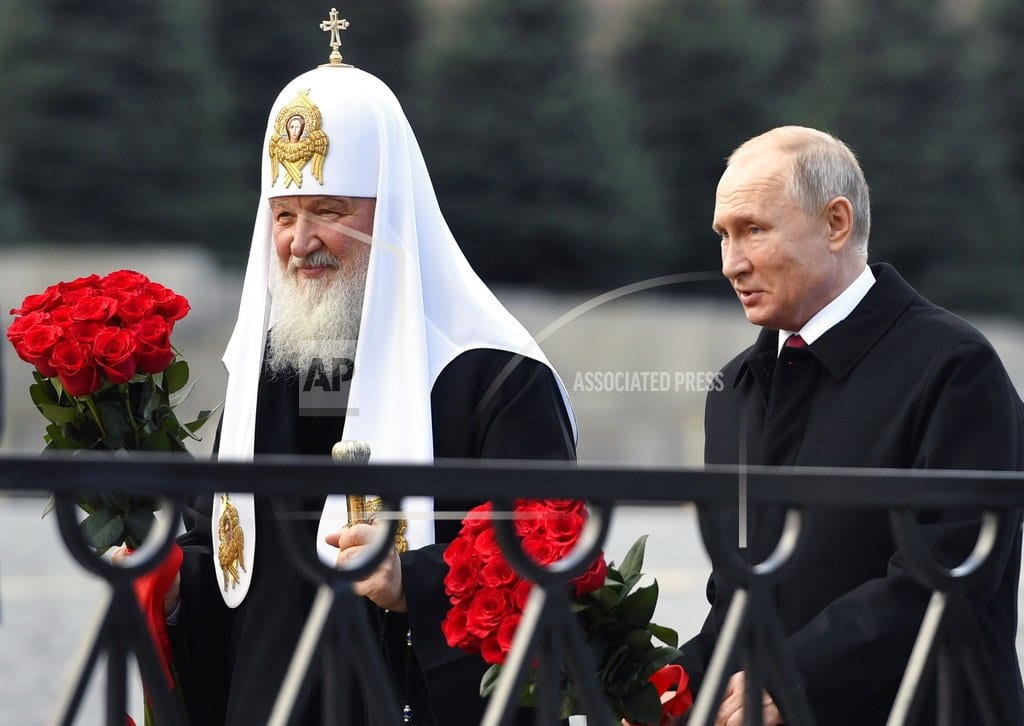 MOSCOW | Russian Orthodox church calls on UN for help in Ukraine