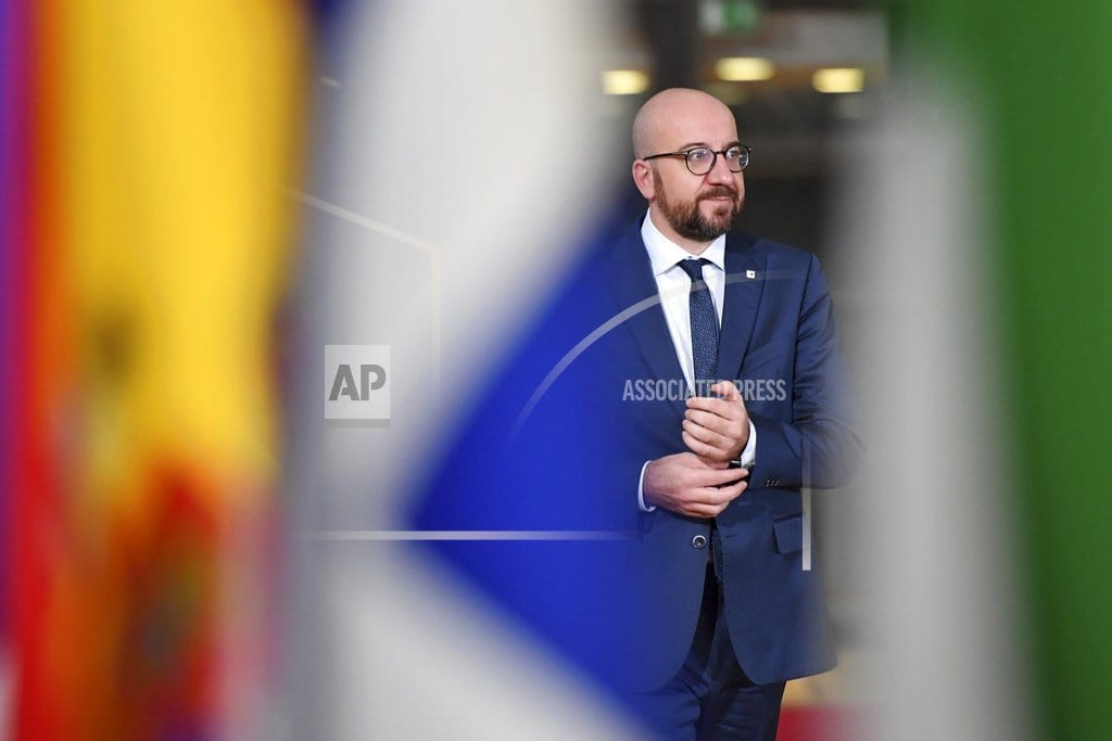 BRUSSELS | The Latest: Brexit: Belgium warns about 'no-deal' scenario