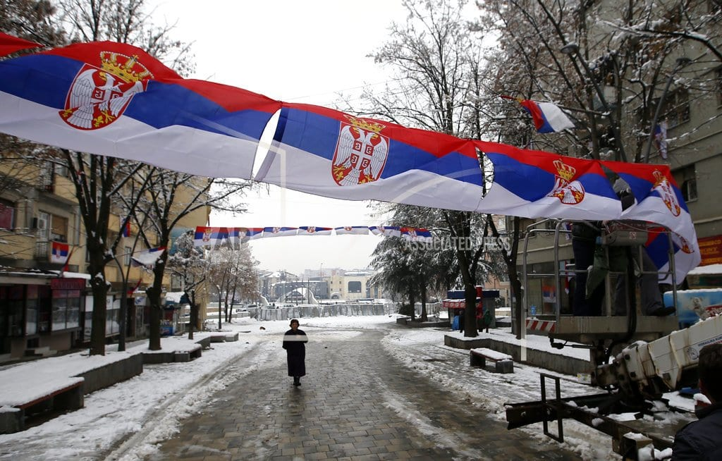 PRISTINA, Kosovo | The Latest: Serbian leader lashes out at US over Kosovo army