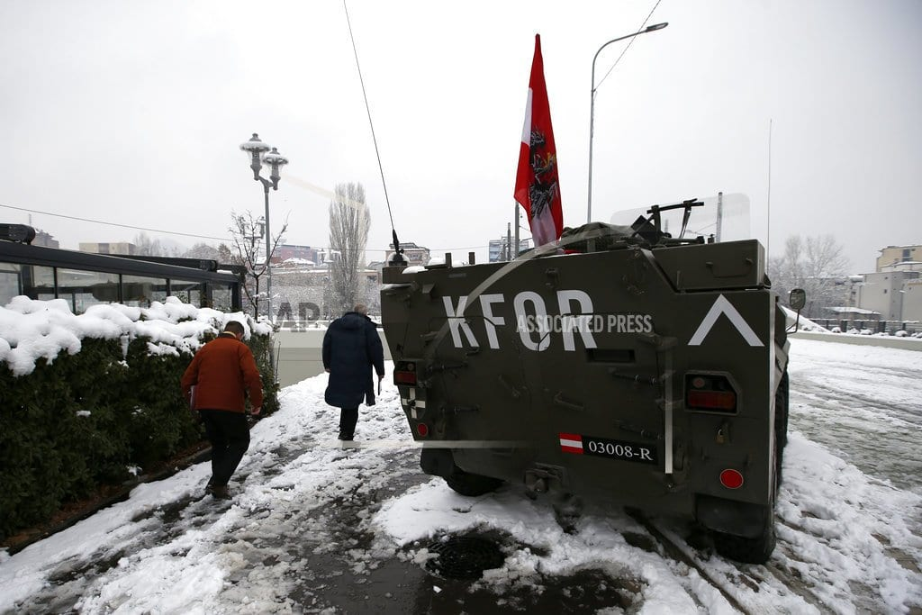 PRISTINA, Kosovo | The Latest: Serbia mulls reactions to Kosovo army formation