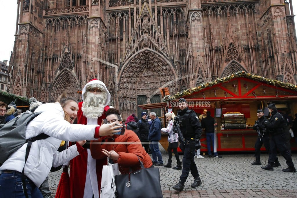STRASBOURG, France | Prosecutor: 4th person dies of wounds from Strasbourg attack
