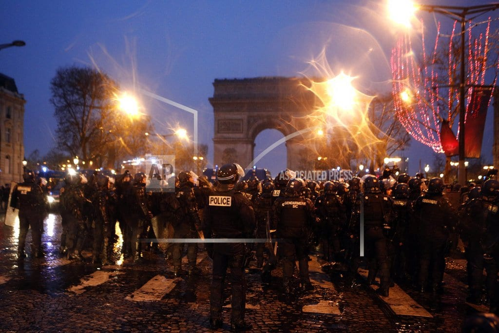 PARIS | French interior minister to meet police union reps