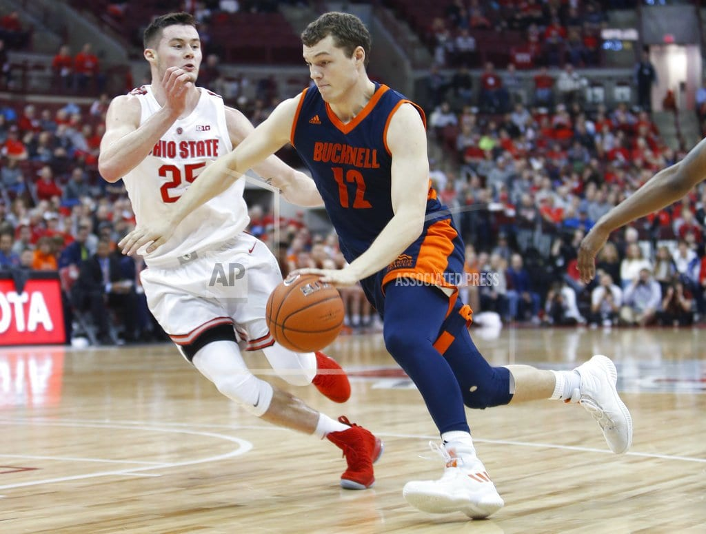 COLUMBUS, Ohio | No. 15 Ohio State survives gritty Bucknell to win 73-71