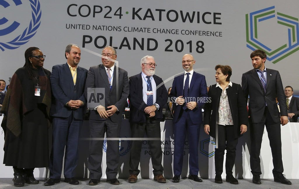 KATOWICE, Poland | Talks adopt 'rulebook' to put Paris climate deal into action