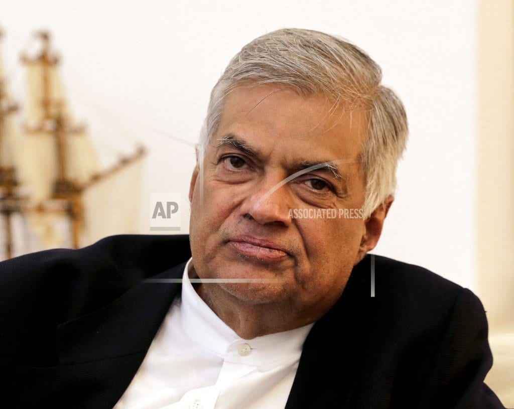 COLOMBO, Sri Lanka | Sri Lankan president doubts he can work with reappointed PM