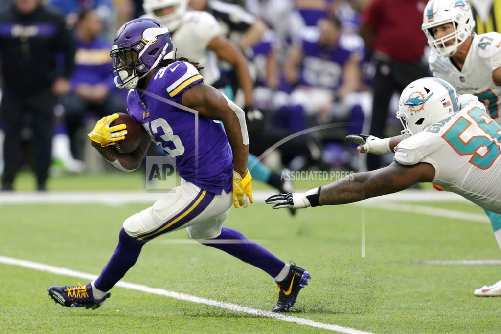 MINNEAPOLIS | Cook carries Vikings past Dolphins 41-17
