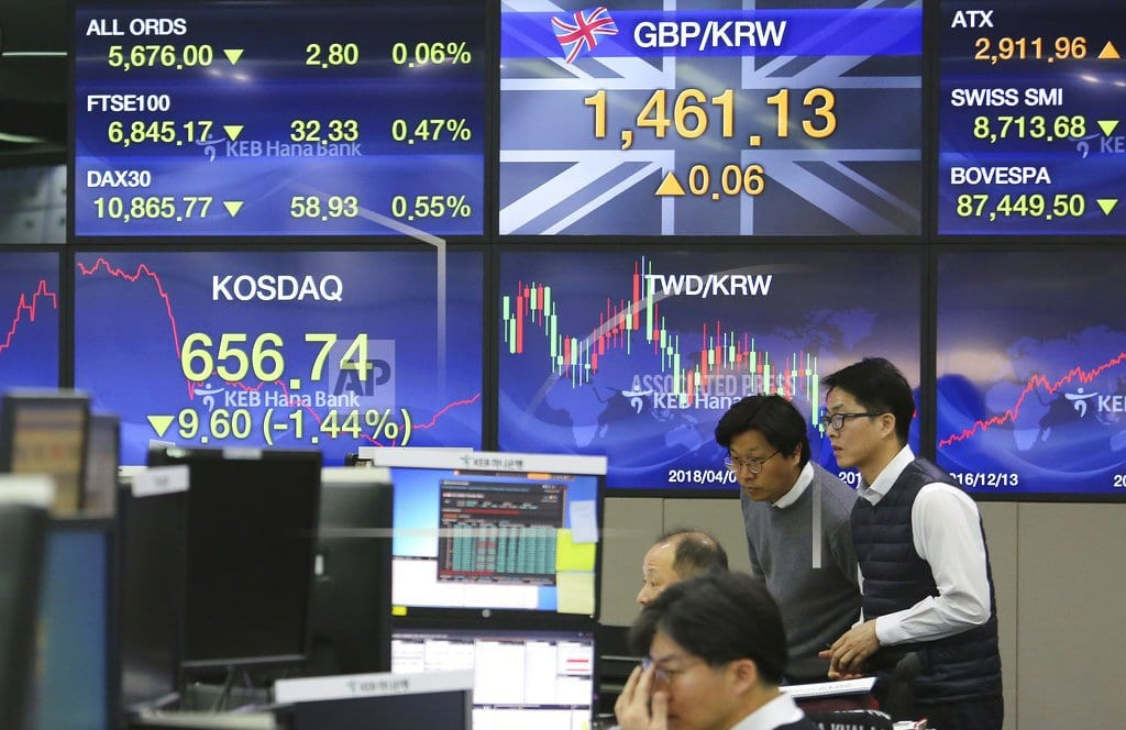 SINGAPORE | World stocks mixed ahead of Brexit address; Fed in focus