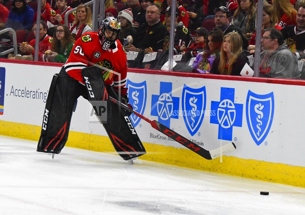 CHICAGO | Blackhawks dealt another blow with Crawford's concussion