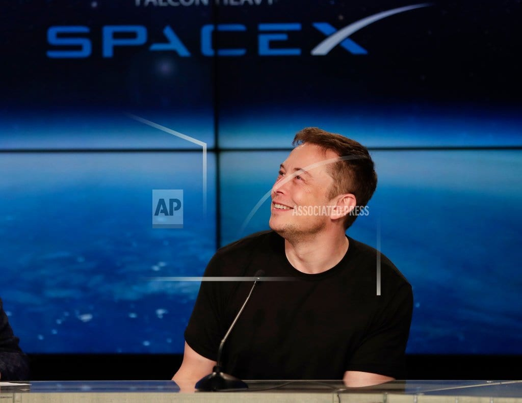 LOS ANGELES | Elon Musk unveils underground tunnels, offers rides to VIPs
