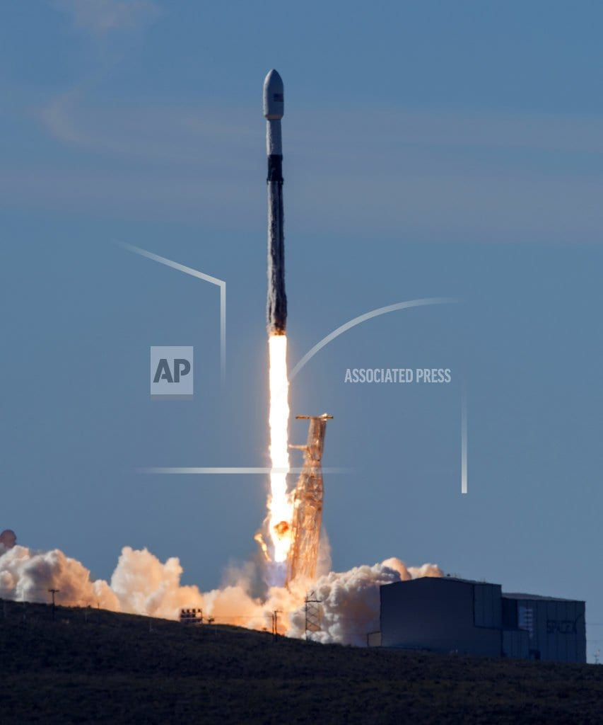 WASHINGTON | The Latest: Trump signs order to create US Space Command