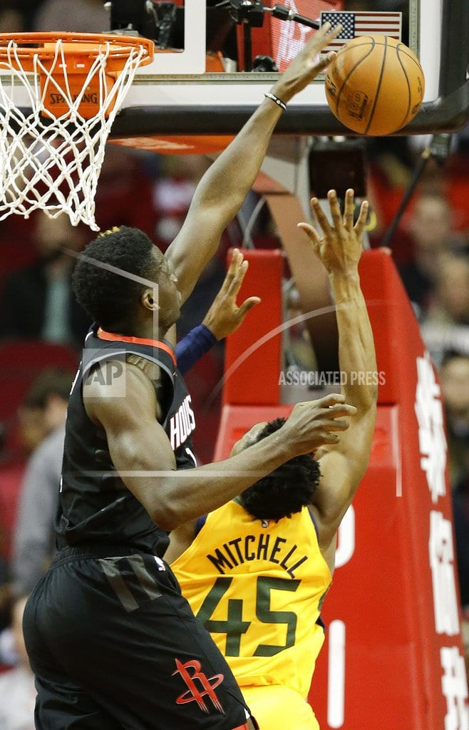 HOUSTON | Harden's 47 points lead Rockets over Jazz 102-97