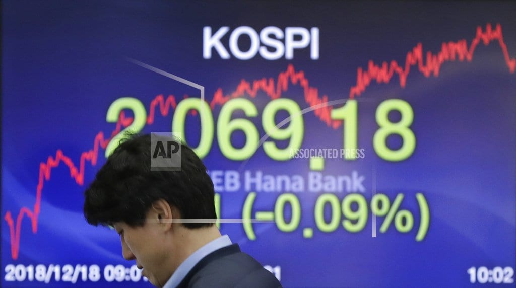 SINGAPORE |Asian shares slip as traders brace for Fed rate increase
