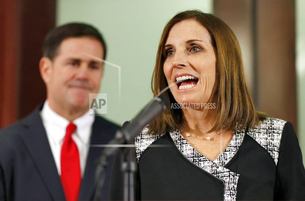 PHOENIX | McSally appointed to McCain's Senate seat after losing race
