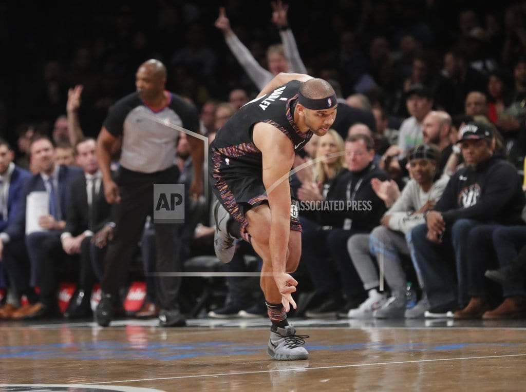 NEW YORK | Nets hold off Lakers to extend winning streak to 6 games