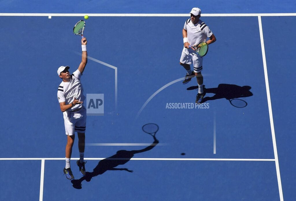 MELBOURNE, Australia | The Latest: Stosur, Zhang to meet champs in doubles final