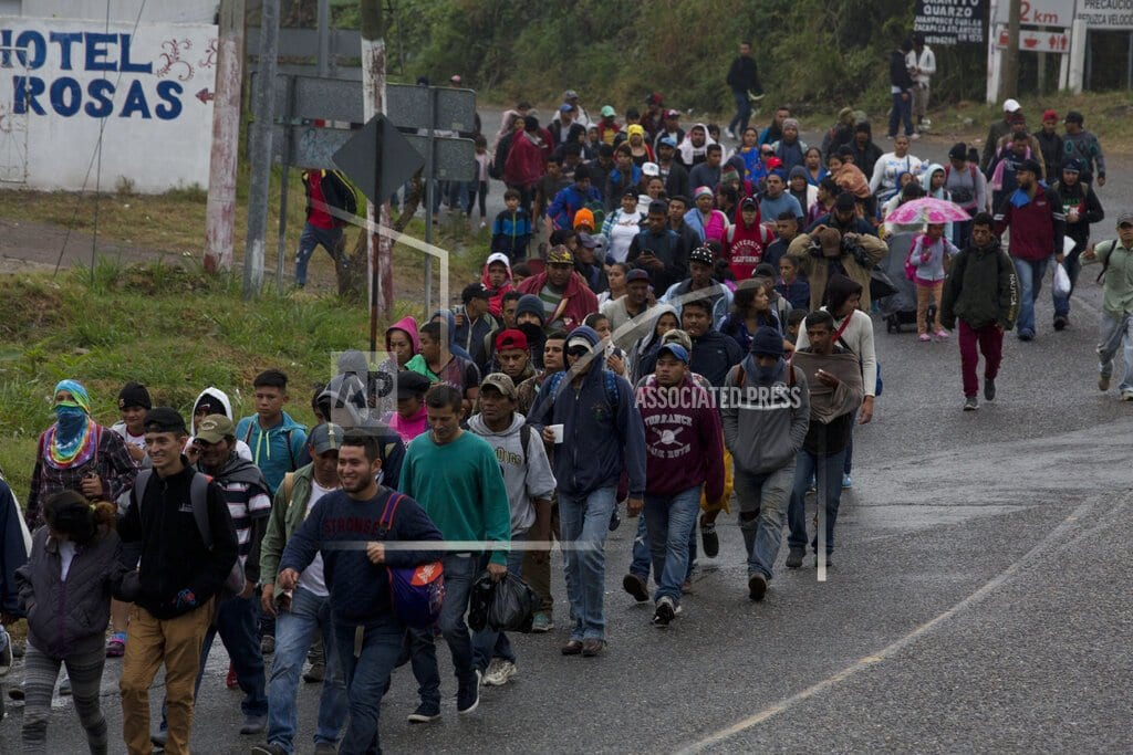 AGUA CALIENTE, Guatemala | After crossing into Guatemala, migrants set sights on Mexico
